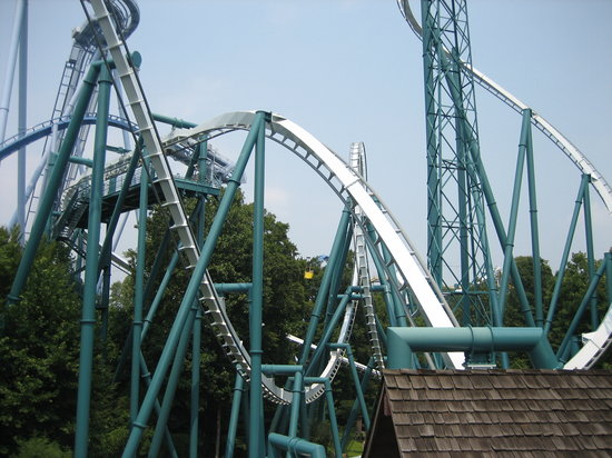 Busch Gardens Williamsburg: the best roller coaster