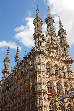 Leuven, Bélgica: the building