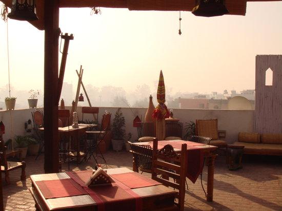 Shanti Home: rooftop restaurant