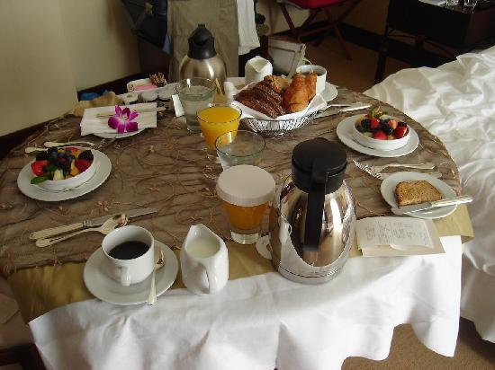 Mandarin Oriental, Miami: the delicious breakfast