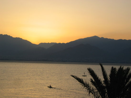 Eilat, İsrail: sunset cruise