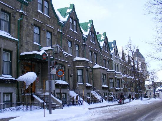 Hotel Manoir de la Terrasse: le batiment