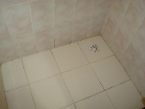 Imbetiba Palace Hotel : Gross Shower