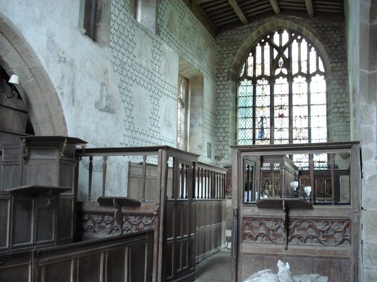 Haddon Hall: chapel where Rochester and Jane were about to be wed