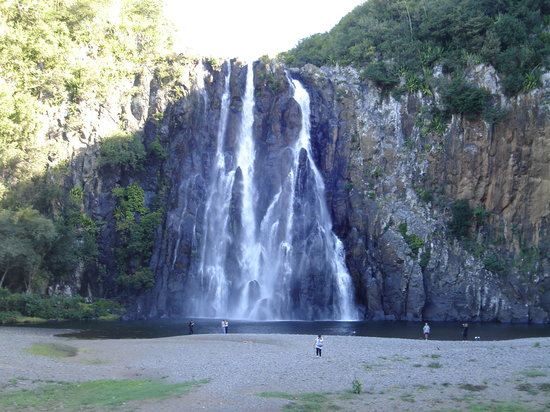 Reunion Island: Water falls of Niagara in STE.SUZANNE