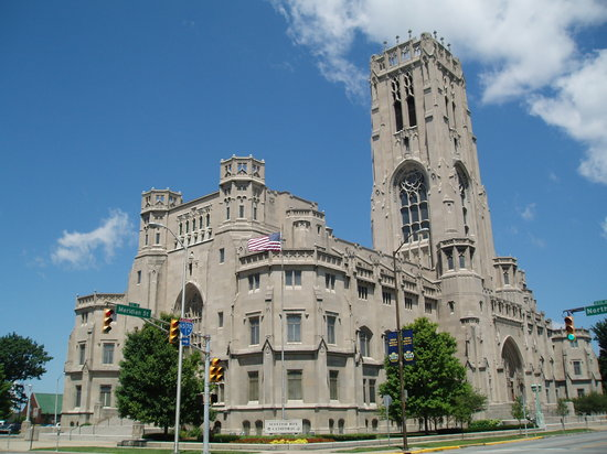 Indianapolis, IN: Scottish Rite Cathedral