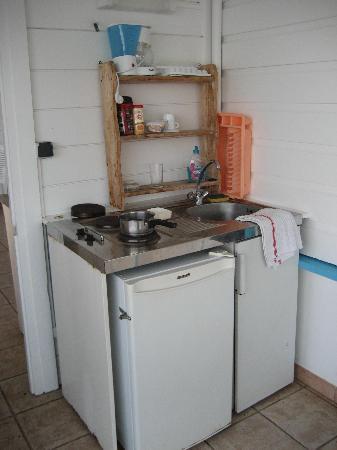 Residence Oceane Hotel : Private kitchenette