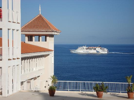 Hotel Riu Palace Madeira: view from room 1551