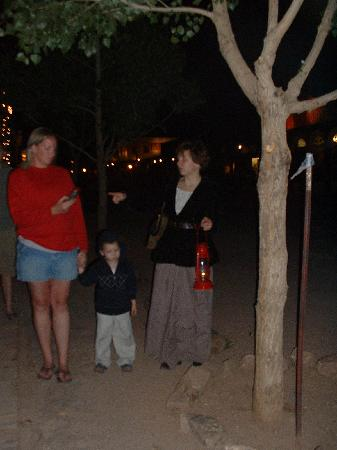 Tombstone Ghost Tour: measuring ghostly activity