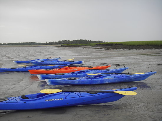 Little Tybee Island - Kayak Tour Stop