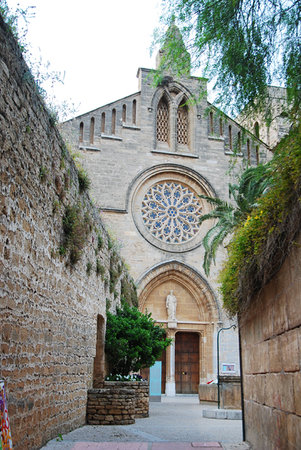 Port d'Alcudia, Spanien: Sant Jaume Church, Alcudia