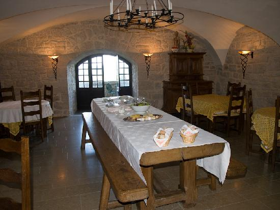 Château d'Andelot : Breakfats/Dining Room