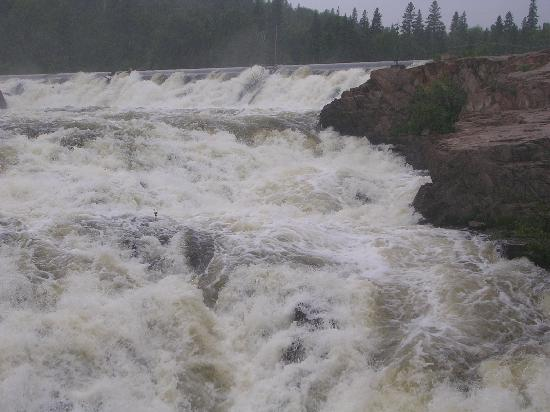 Scenic High Falls, Ontario. (July 2008)