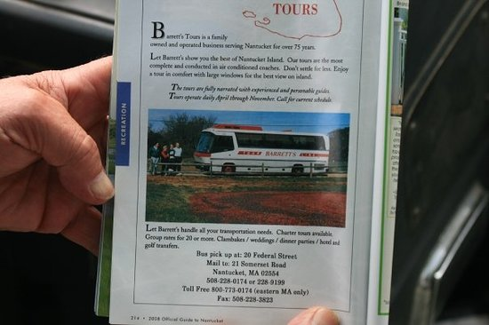 ‪Barrett's Tours‬