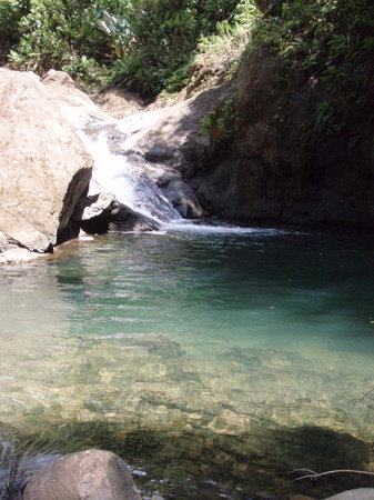 Quepos, Kostaryka: third waterfall