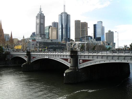 Melbourne, Australien: Princes Bridge