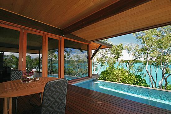 Qualia Resort : Windward pavillion's private plunge pool