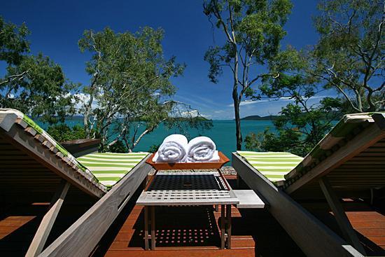 Qualia Resort : The northing facing windward pavillion
