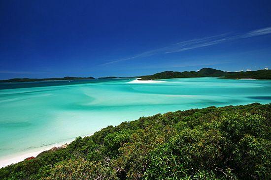 Qualia Resort : Whiteheaven beach