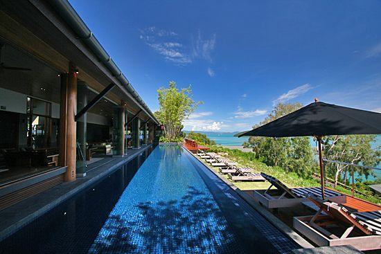 Qualia Resort: Outside the lobby