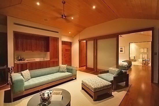 Qualia Resort: Living Room