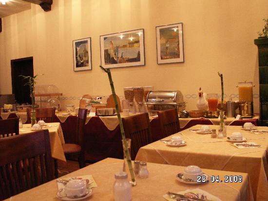 Berghotel Kockelsberg: The breakfast room