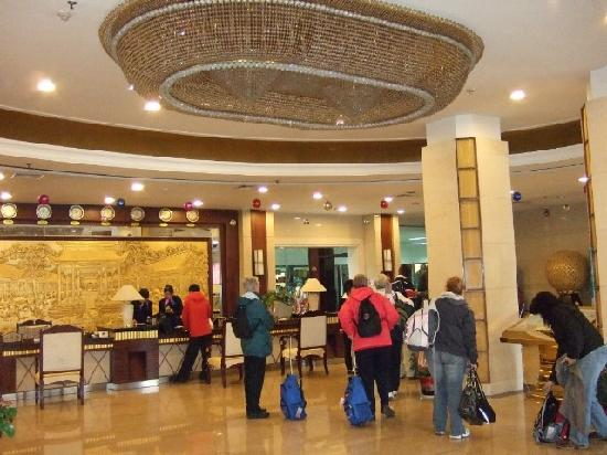 Shaolin International Hotel: Hotel foyer