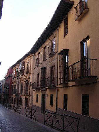 Granada, Spanje: calle S. Matías