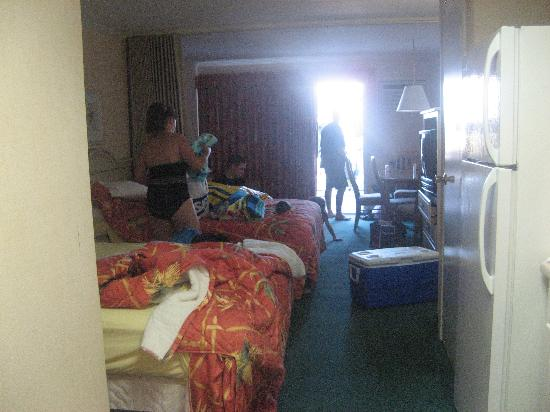 Sea Hawk Motel: large room with full refrigerator