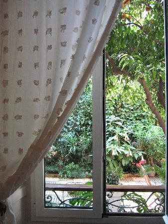 Nice Garden Hotel: View from our window