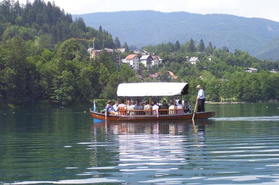 Słowenia: Bled pletna