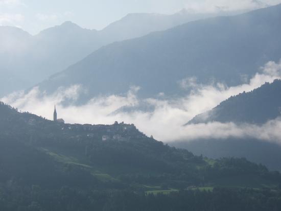Hotel Taubers Unterwirt: Panoramic view from balcony