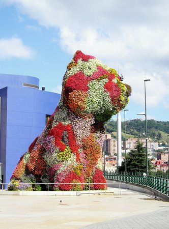 Bilbao, Spain: Puppy...