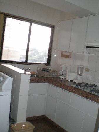 Aparthotel Torres de Alba: kitchen