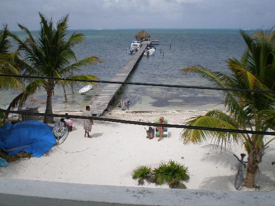 Costa Maya Beach Cabanas: View from room #5