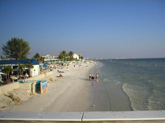 Southwest Gulf Coast, FL: Fort Myer's Beach Scene