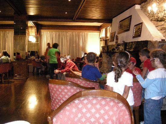 Pescasseroli, Włochy: sala bar