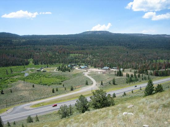 Triangle C Ranch: View of ranch