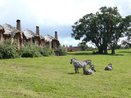 andBeyond Ngorongoro Crater Lodge: Lodge grounds