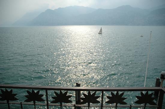 Hotel Malcesine: View from our room