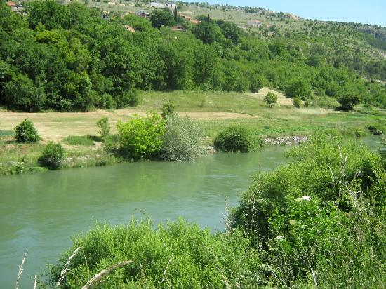 Trilj, Kroatien: River Cetina