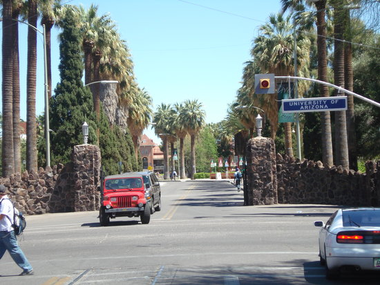 Tucson, AZ: entrance to U of A