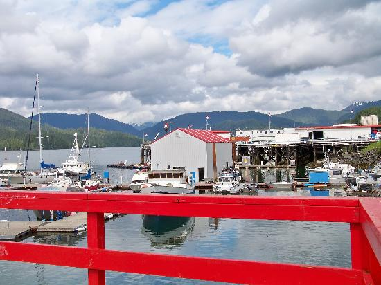 Harbor in Prince Rupert, Canada