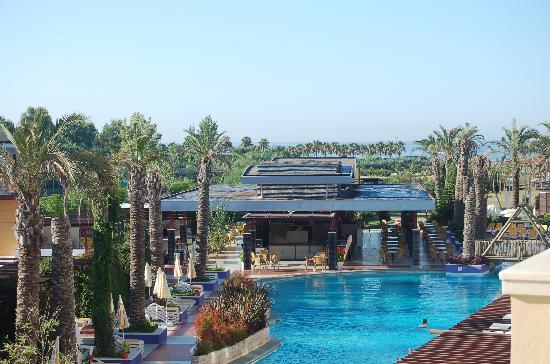 Xanthe Resort: Chambre vue latérale mer