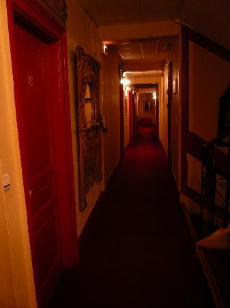 Hotel de la Paix: Couloir du 1er étage