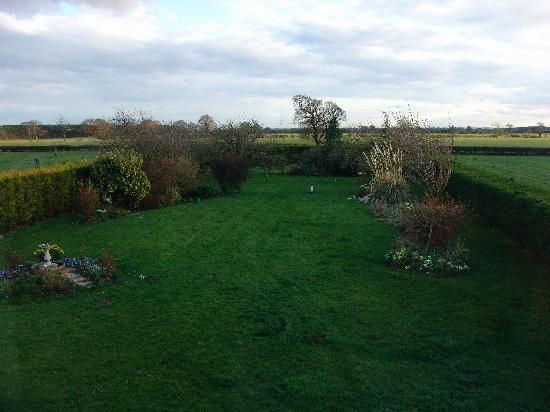 Wood Farm Bed and Breakfast: view from our window