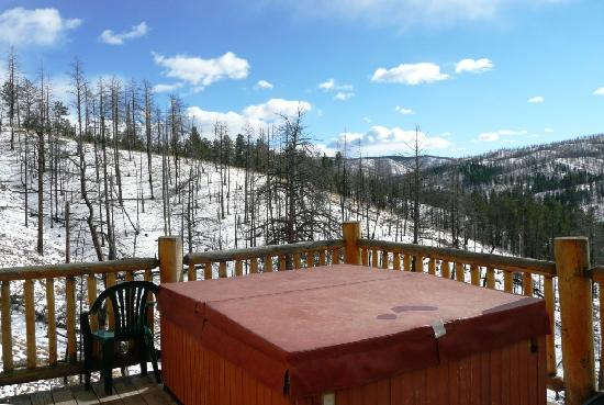 Pikes Peak Resort: Hot Tub