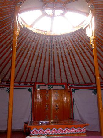 Cerza Safari Lodge : La vue du lit