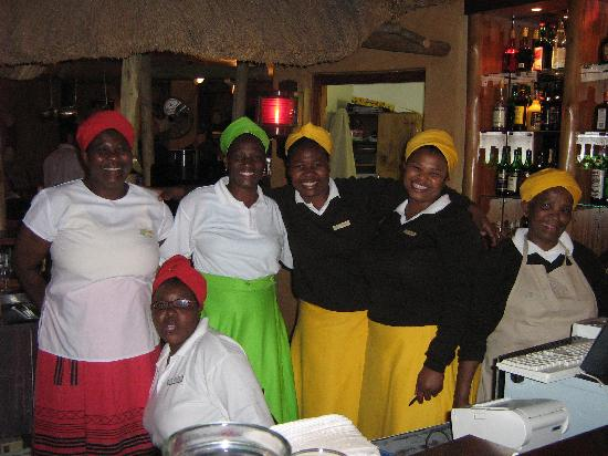 Umngazi River Bungalows & Spa: Some of the friendly staff
