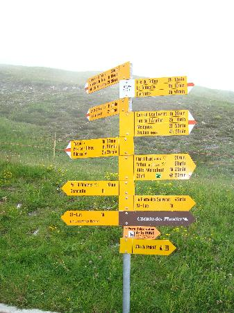 Val d'Anniviers: Check your route !